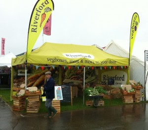Riverford Organics Marquee Bunting April 14